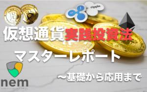 仮想通貨実践投資マスターレポート〜基礎から応用まで