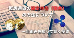 仮想通貨の確定申告(税金)の方法について〜税理士相談と計算方法
