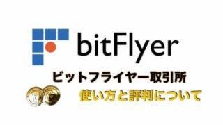 bitFlyer(ビットフライヤー)取引所とは?〜初心者にオススメしたい特徴と評判・口コミについて